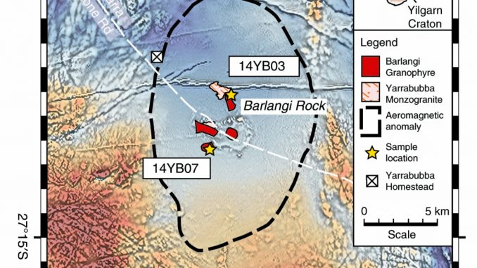 il più antico cratere da impatto in Australia