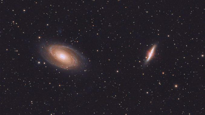 Foto Di Salvo Lauricella  M81 E M82 Galassia Di Bode E